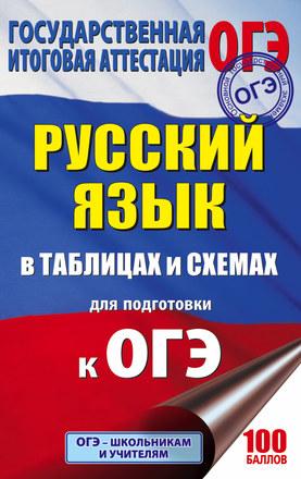 ОГЭ. Русский язык в таблицах и схемах. 5-9 классы Текучева