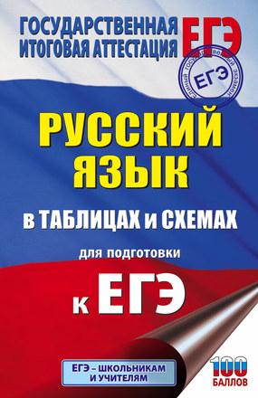 ЕГЭ. Русский язык в таблицах и схемах для подготовки к ЕГЭ Текучева