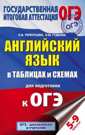 Английский язык в таблицах и схемах для подготовки к ОГЭ Терентьева Гудкова